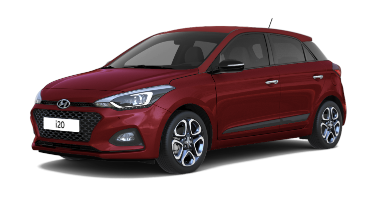 Hyundai i20 Hatchback Topautost_Red Passion