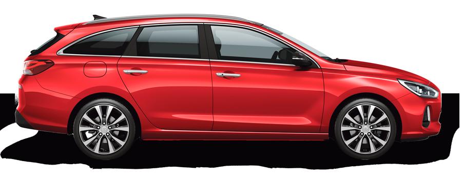 Hyundai i30 Wagon automaat manuaali hinnaga