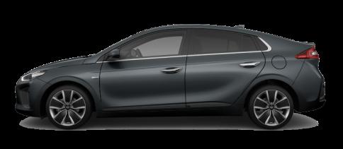 Hyundai IONIQ hybrid_Iron Gray