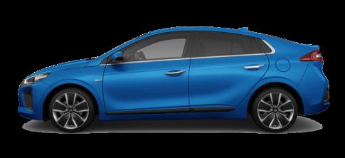 Hyundai IONIQ hybrid_Marina Blue