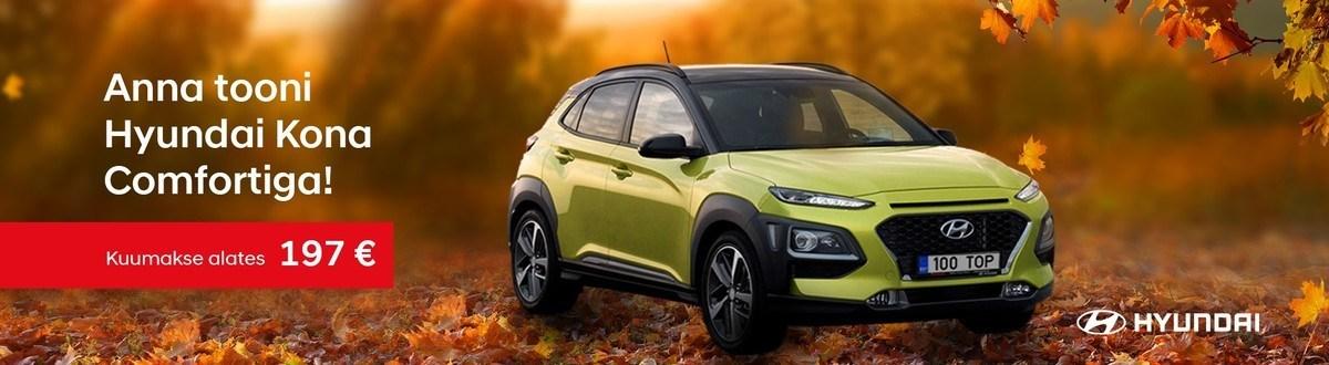 Hyundai Konaga annad elule tooni!