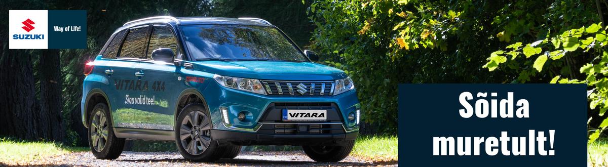 Suzuki Vitara - Naudi sõite Eesti teedel!