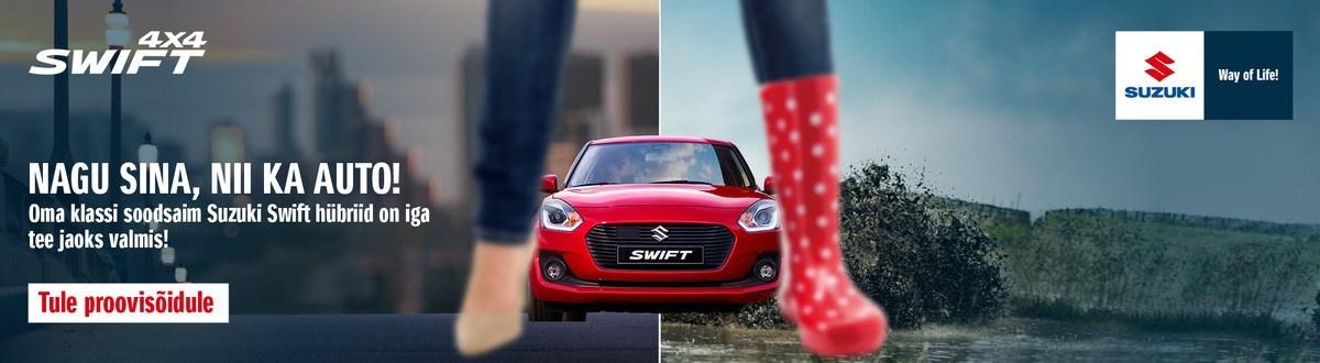 Swift - nagu Sina, nii ka auto!