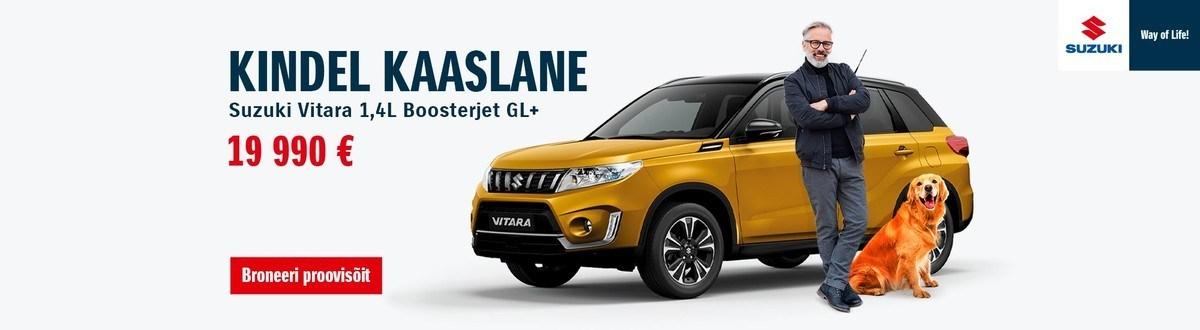 Suzuki Vitara. Sinu kindel nelikveoline kaaslane.