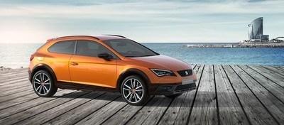 SEAT esitles Frankfurdi autonäitusel Leon Cross Sport näituseautot