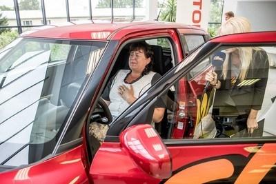 Raadiokuulaja Eha võitis Suzuki Swifti!!!