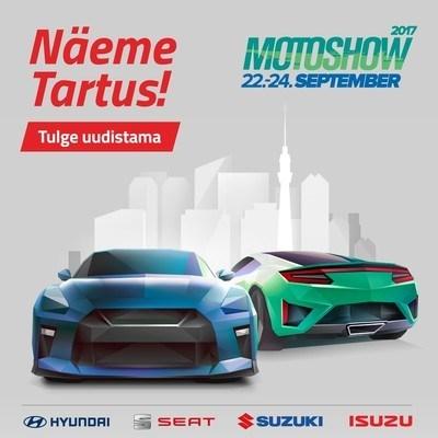 Topauto teeb Tartu Motoshow-l 2 Baltikumi esmaesitlust
