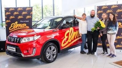 Raadio Elmar autoloosiga võideti taas uus Suzuki Vitara