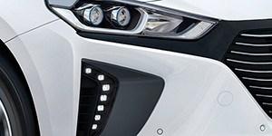 Hyundai Ioniq LED-päevatuled.