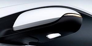 Hyundai Ioniq Plug-In õhukesed küljepeeglid.