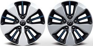 Hyundai Ioniq Plug-In 16-tollised valuveljed.