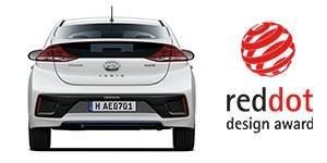 Hyundai Ioniq auhinnatud disain.
