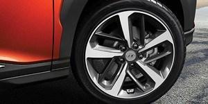 Hyundai Kona stiilsed valuveljed.