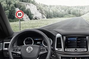 Система определения дорожных знаков