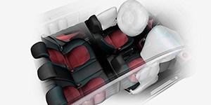 Система с 6 подушками безопасности