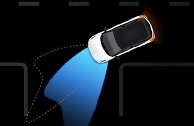 Система управления ближним светом с подсветкой поворотов
